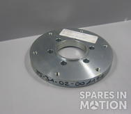 Adapter flange for slip ring transformer GE1. 5