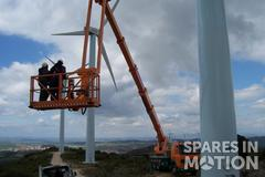 Wind turbine Tower cleaning, welding or oxide removal of tower 0